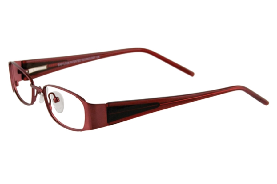 EasyLook EC199 Eyeglasses in 30 RUBYRED/BLACK-CLRRED