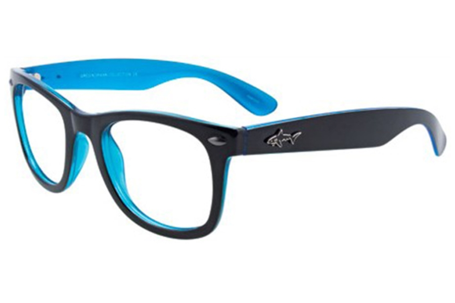 Greg Norman GN229 Eyeglasses in 95 Black Blue