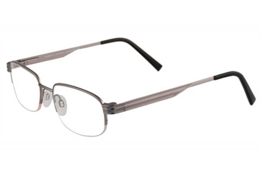 Magnetite MG790 Eyeglasses in 20 Satin Silver