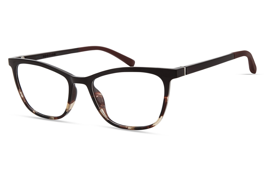 Eco 2.0 Bio-Based Denali Eyeglasses in Dark Red Gradient