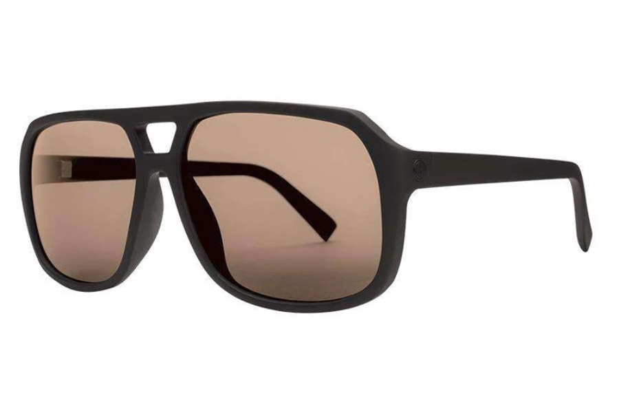 Electric Dude Sunglasses in EE16701019 Matte Black w/Light Bronze