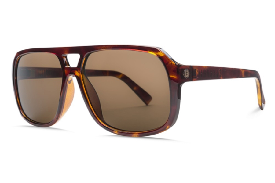 Electric Dude Sunglasses in EE16710639 Gloss Tort w/ Ohm Bronze