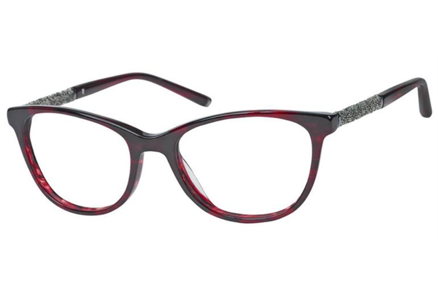 Elegante EL-33 Eyeglasses in Wine