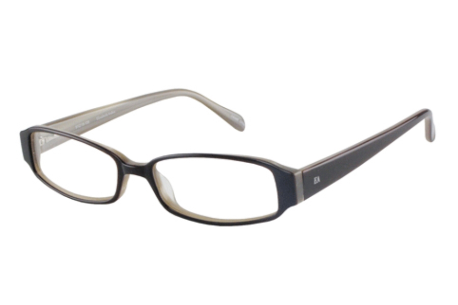 627223e93 Elizabeth Arden EA 6013 Eyeglasses in Black Multi Layer ...