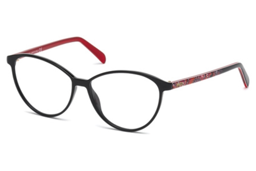 Emilio Pucci EP5047 Eyeglasses in 001 - Shiny Black