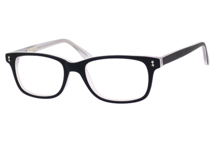 Ernest Hemingway H4617 Eyeglasses in Matt Black Crystal