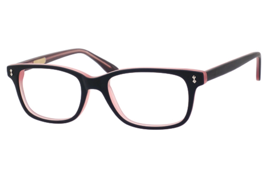 Ernest Hemingway H4617 Eyeglasses in Matt Black Pink