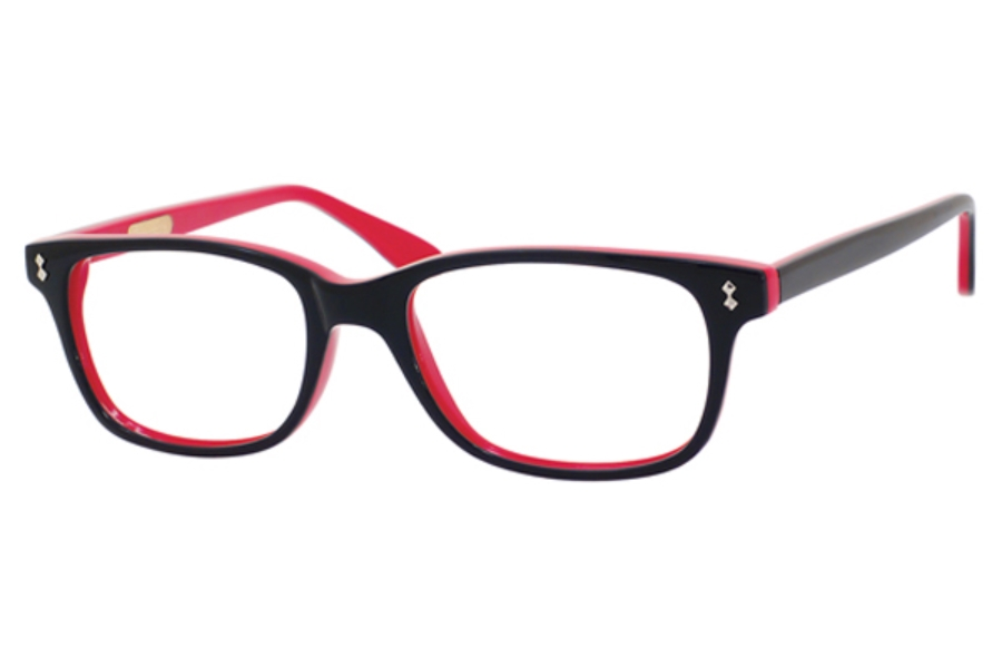 Ernest Hemingway H4617 Eyeglasses in Shiny Black Red