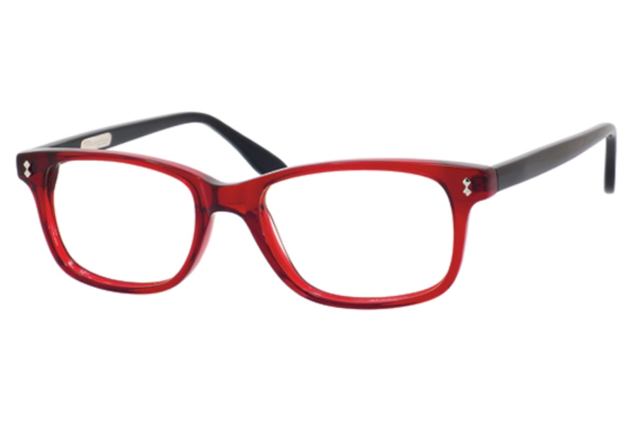 Ernest Hemingway H4617 Eyeglasses in Shiny Red Crystal Black