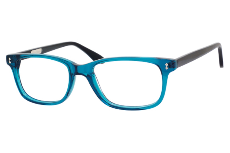 Ernest Hemingway H4617 Eyeglasses in Shiny Teal Black