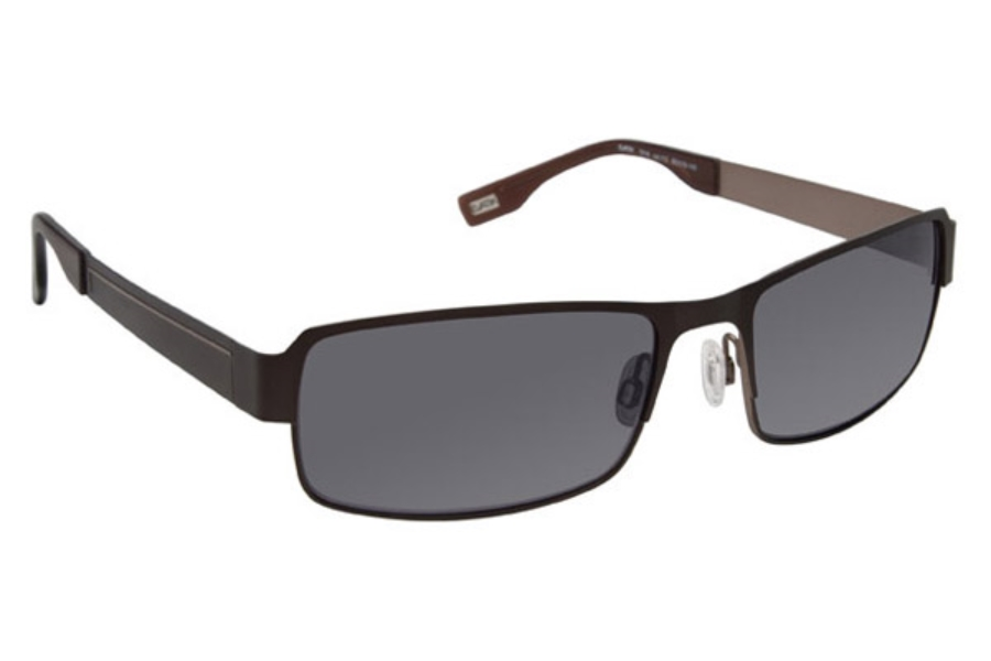 Evatik EVATIK 1018 Sunglasses in 112 Brown/Champagne