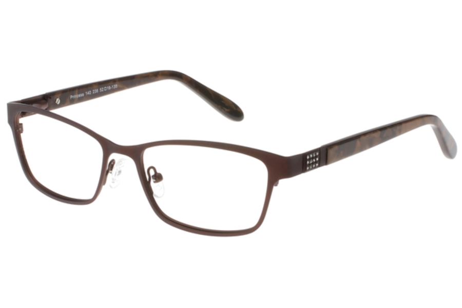 Exces Exces Princess 140 Eyeglasses in 236 Brown-Mottled