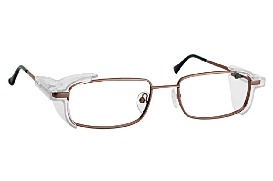 Eye Shield Eye Shield 5 Eyeglasses in 02-Brown