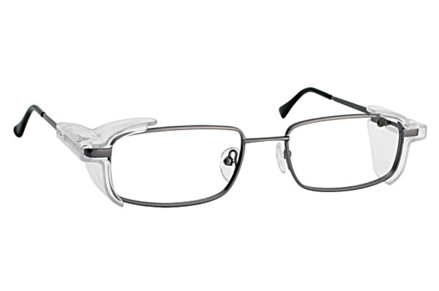 Eye Shield Eye Shield 5 Eyeglasses in 05-Gunmetal
