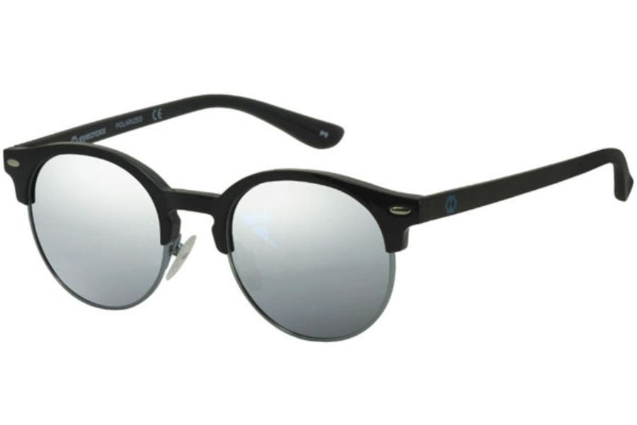 Eyecroxx ECKS1702 Sunglasses in C1 Gun Black/White Mirror