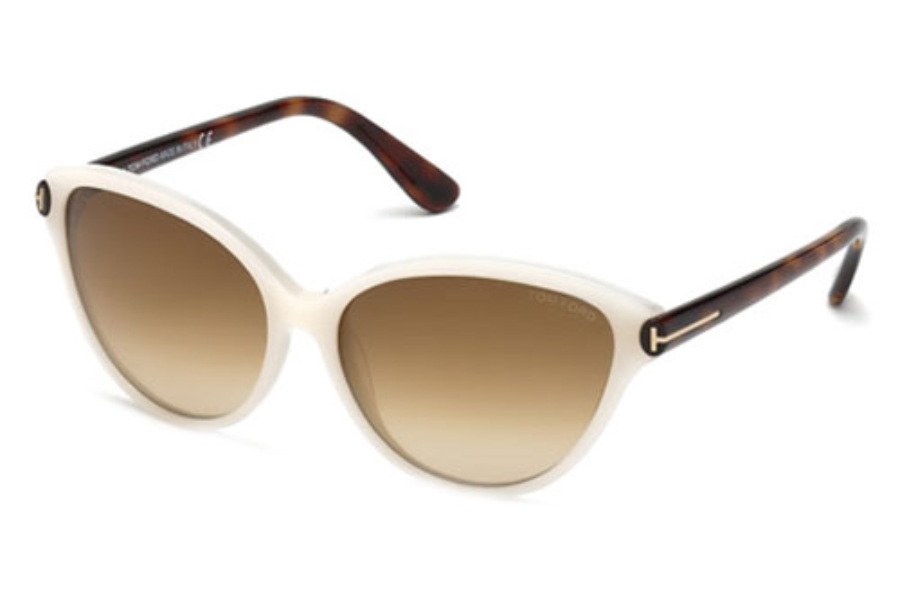 Tom Ford FT0342 Sunglasses in 20F Grey/Other / Gradient Brown