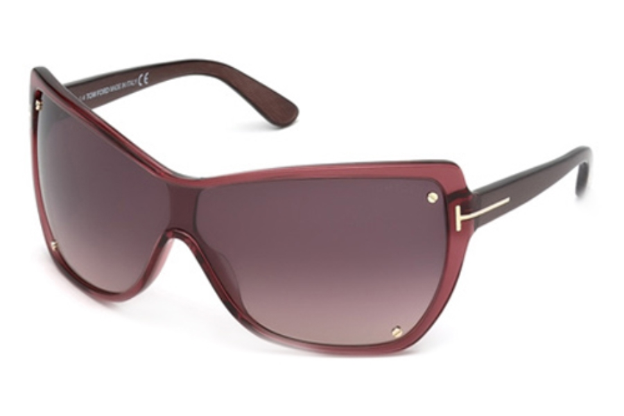 Tom Ford FT0363 Sunglasses in 71Z Bordeaux/Other/Gradient