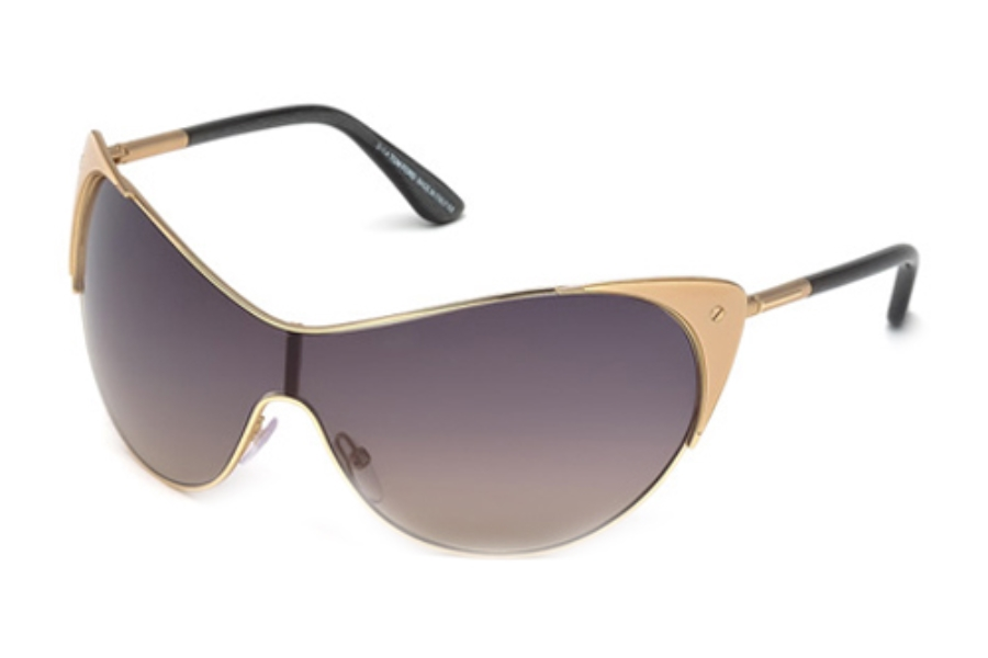 Tom Ford FT0364 Sunglasses in 74B Pink /Other/Gradient Smoke