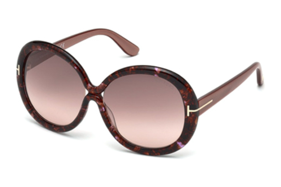 Tom Ford FT0388 Sunglasses in 50F Dark Brown/Other/Gradient Brown