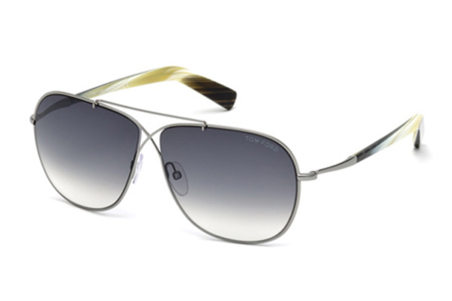 Tom Ford FT0393 April Sunglasses in Tom Ford FT0393 April Sunglasses