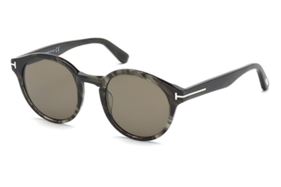 Tom Ford FT0400 Lucho Sunglasses in 20B - Grey/Other / Gradient Smoke