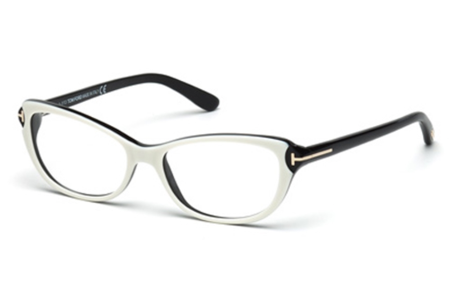 Tom Ford FT5286 Eyeglasses in 024 White/Other