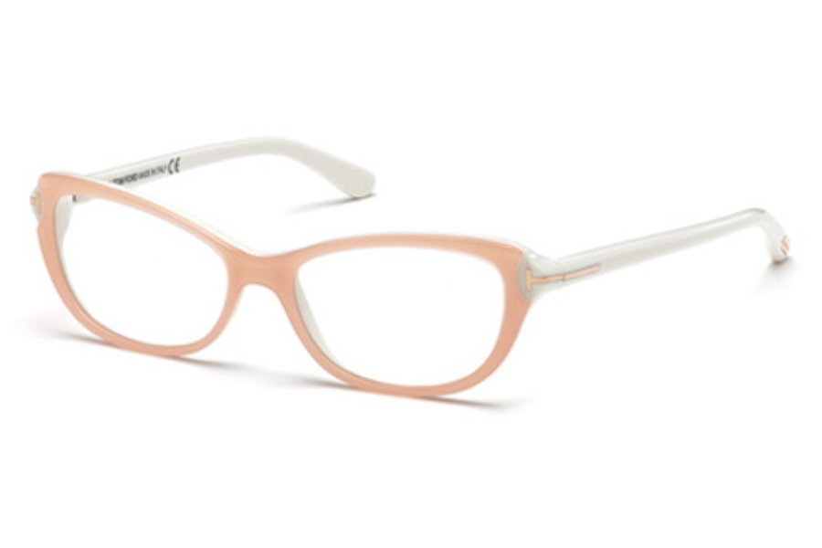 Tom Ford FT5286 Eyeglasses in 072 Shiny Pink