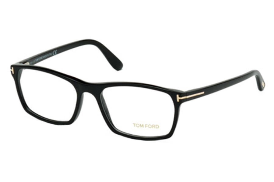 Tom Ford FT5295 Eyeglasses in 001 Shiny Black