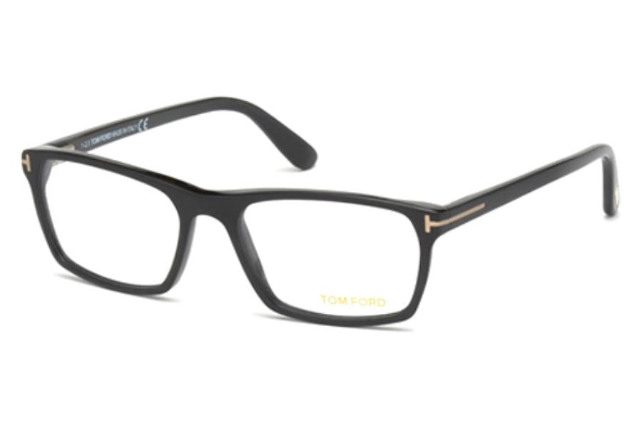 Tom Ford FT5295 Eyeglasses in 002 Matte Black