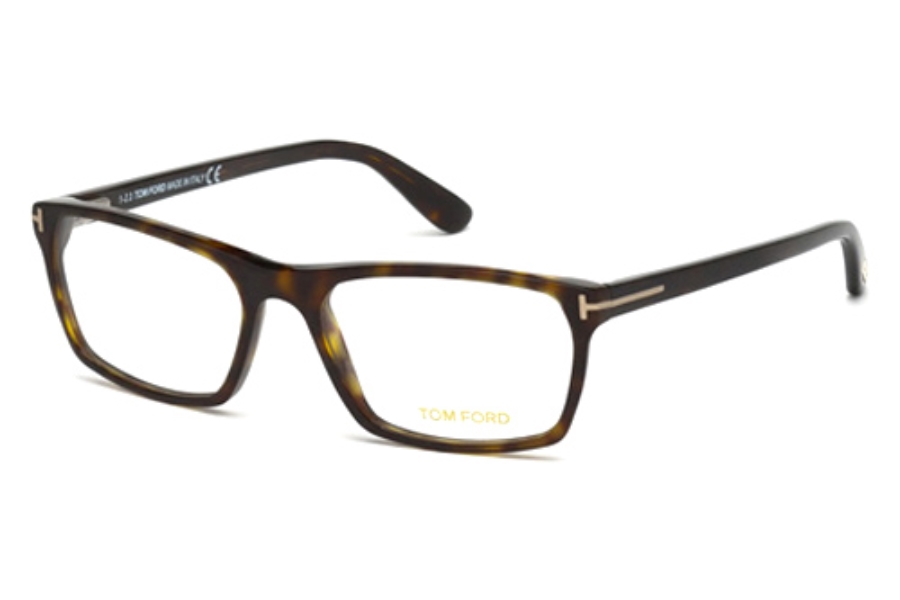 Tom Ford FT5295 Eyeglasses in 052 Dark Havana
