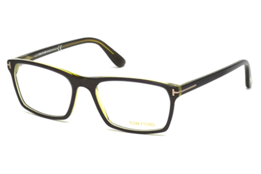 Tom Ford FT5295 Eyeglasses in 098 Dark Green/Other