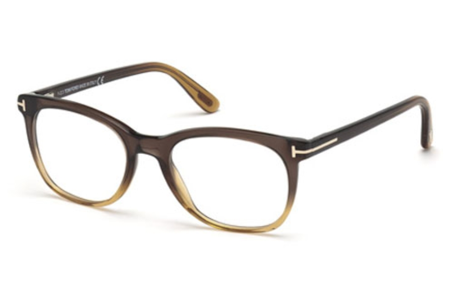 Tom Ford FT5310 Eyeglasses in 050 Dark Brown/Other