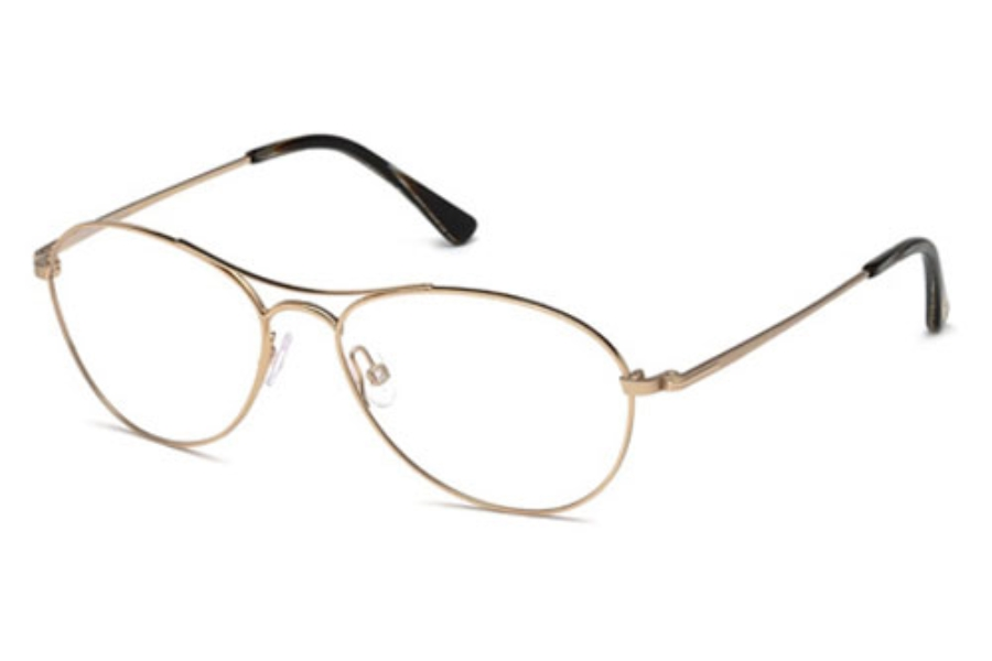 Tom Ford FT5330 Eyeglasses in 028 Shiny Rose Gold