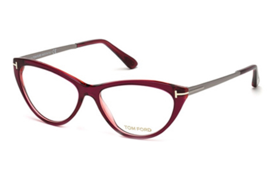 Tom Ford FT5354 Eyeglasses in 075 Shiny Fuxia