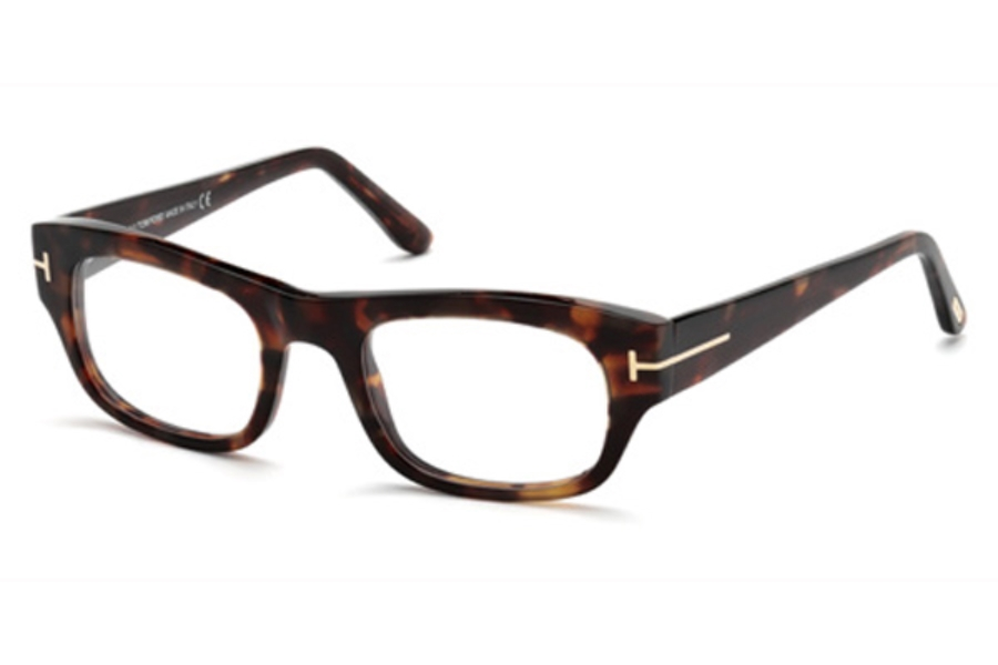 Tom Ford FT5415 Eyeglasses in 054 - Red Havana
