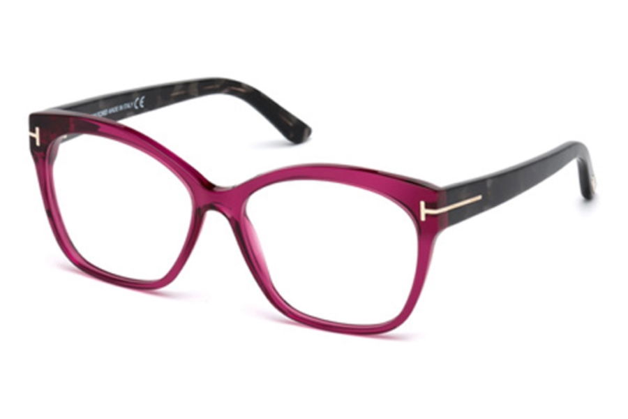 Tom Ford FT5435 Eyeglasses in 075 - Shiny Fuxia