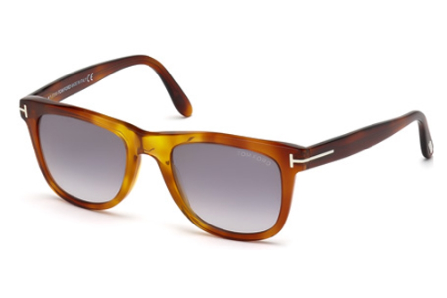 Tom Ford FT9336 Sunglasses in 52B Dark Havana / Gradient Smoke