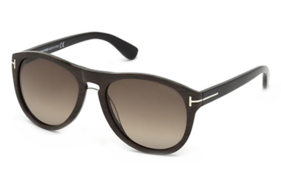 Tom Ford FT9347 Sunglasses in 05K Black/Other / Gradient Roviex