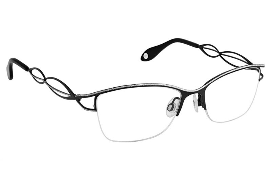 FYSH UK Collection FYSH 3644 Eyeglasses in S200 Black Silver