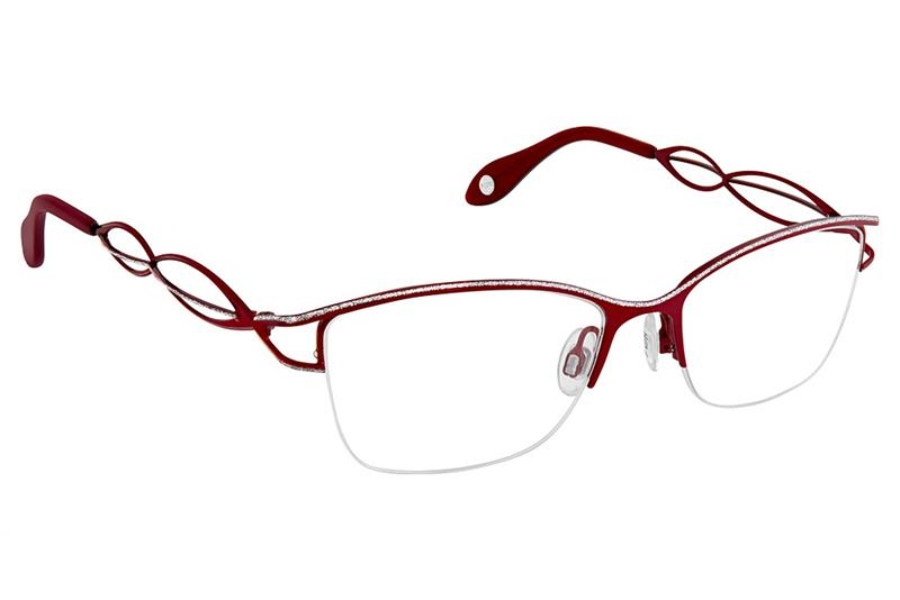FYSH UK Collection FYSH 3644 Eyeglasses in S206 Wine Silver