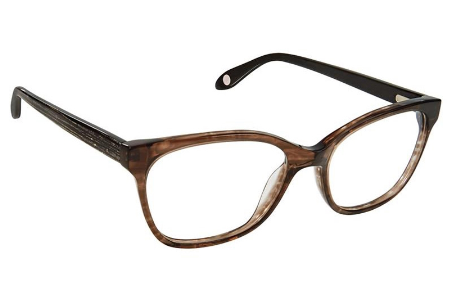 FYSH UK Collection FYSH 3632 Eyeglasses in M303 Smoke Black