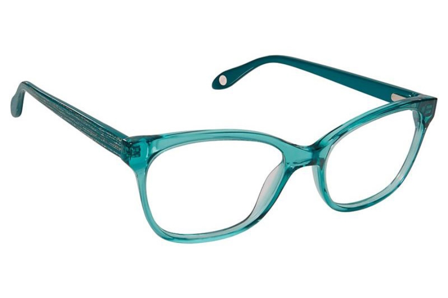 FYSH UK Collection FYSH 3632 Eyeglasses in S304 Teal