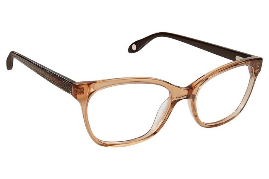 FYSH UK Collection FYSH 3632 Eyeglasses in S317 Nude Brown