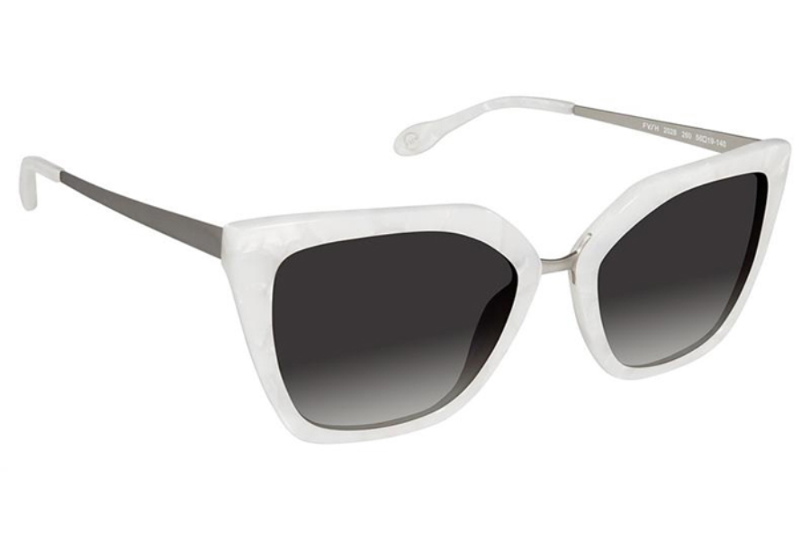 FYSH UK Collection FYSH 2028 Sunglasses in 260 Ivory