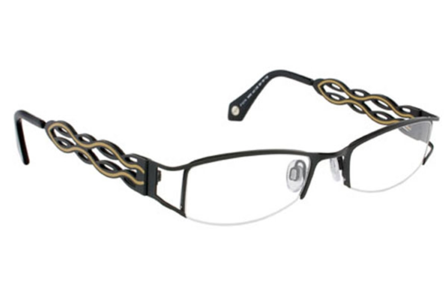 e32f429462 FYSH UK Collection FYSH 3400 Eyeglasses in 126 Black Mink ...