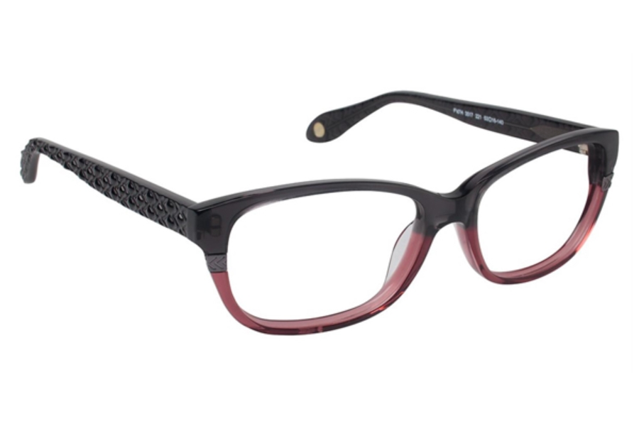 FYSH UK Collection FYSH 3517 Eyeglasses in 221 GRY/ROSE