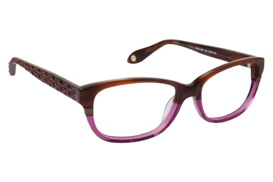 FYSH UK Collection FYSH 3517 Eyeglasses in 223 MAHOG/ORCH