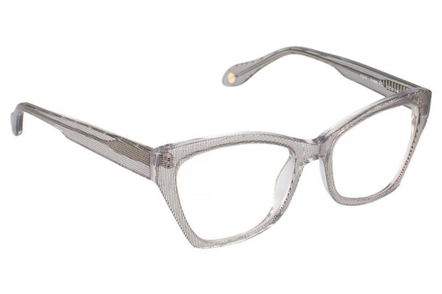 FYSH UK Collection FYSH 3565 Eyeglasses in 672 Crystal Silver