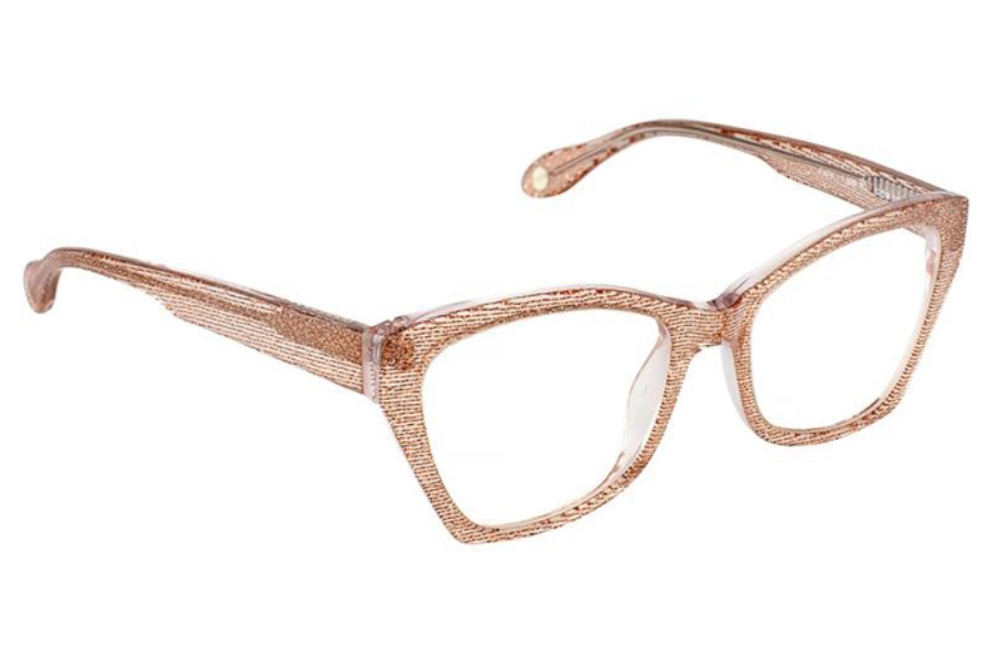 FYSH UK Collection FYSH 3565 Eyeglasses in 673 Crystal Rose Gold
