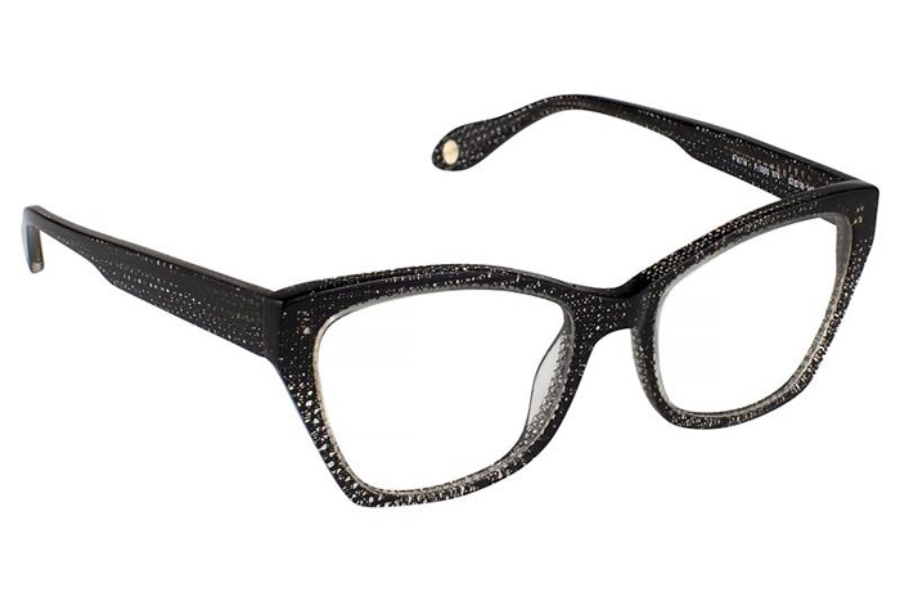 FYSH UK Collection FYSH 3565 Eyeglasses in 674 Crystal Black